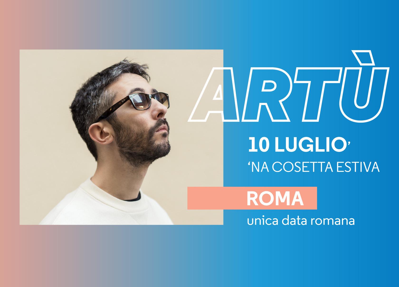 """INTERVISTA Artu  """"Il mio prossimo sogno è quello di scrivere con Vasco  Rossi"""" 48b5324cda"""