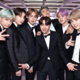 La boyband sudcoreana BTS a un evento